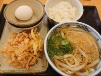 瀬戸うどん 西新橋二丁目店@東京都港区 卵かけごはん朝食