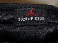AIR JORDAN 1 RETRO BLACK / VARSITY RED 黒赤(2001) シリアルナンバー SerialNumber
