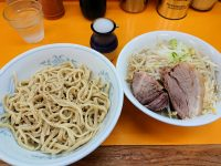 ラーメンエース@東京都八王子市 塩つけ麺 麺少なめ