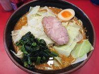らーめん 谷瀬家@東京都港区 豚骨カレー麺 中盛