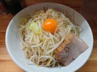 麺処 MAZERU(マゼル)@東京都千代田区 まぜそば塩 麺200g