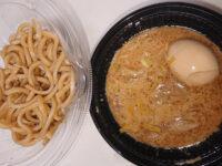 とみ田監修 濃厚豚骨魚介 味玉冷しつけ麺@セブンイレブン パッケージ 完成