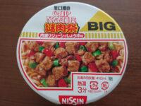 カップヌードル ビッグ 謎肉祭 肉盛りジューシィしょうゆ味@日清食品 年に1度のCAP NOODLE 謎肉祭 フタ