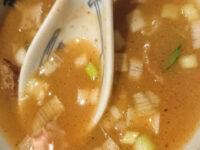 創始 麺屋武蔵@東京都新宿区 濃厚つけ麺 大盛り スープ割