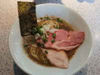 破壊的イノベーション@東京都新宿区 煮干しラーメン
