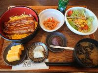五色 イオンモール多摩平の森店@東京都日野市 うな丼セット フタオープン
