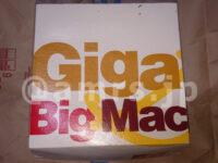 ギガビッグマック・マクドナルドの福袋2021@マクドナルド ギガビッグマック箱