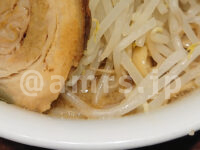 ラーメン雷 東京本丸店@グランスタ東京(東京都千代田区)雷そば 中(300g) ヤサイちょい増し ニンニク別皿 スープ