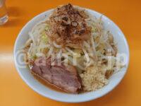 ラーメンエース@東京都八王子市 ミニラーメン にんにく 野菜 焦がしアブラ 味噌