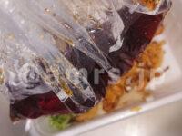 丸亀うどん弁当 2種の天ぷらと定番おかずのうどん弁当@丸亀製麺 つゆ開封