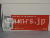 NIKE AIR PYTHON LUX SP 白茶蛇柄 boxtag ボックスタグ