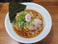 豚そば鶏つけそば専門店 上海麺館@東京都中野区 サバ節らーめん