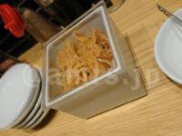 一風堂 浜松町スタンド@東京都港区 醤油豚骨 メニュー ホットもやし 容器