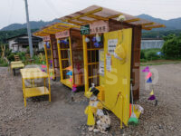 ヤマモトヤ 玉子サンドの無人販売所@神奈川県厚木市 冷蔵庫 玉子サンド売り場