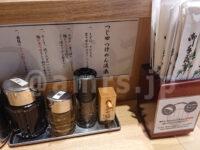 つじ田 秋葉原店@東京都千代田区 つけ麺流儀 つけ麺の食べ方