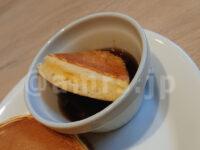 セレクトモーニング(選べるサラダモーニング シーザーサラダ ・パンケーキ・ドリンクバー)@デニーズ パンケーキ ディップ メイプルシロップ