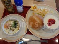 ジョイフル 東京八王子店@東京都八王子市 エッグスラットとカスピ海ヨーグルトのプレート