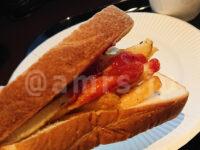 無料モーニング食べ放題@快活クラブ 食パン 神ポテト フライドポテト 食べ放題 トースト 神ポテトサンド サンドイッチ