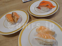 かっぱ寿司 青梅店@東京都青梅市 食べホー サーモン 焼きサーモン とろサーモン