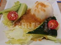 かっぱ寿司 青梅店@東京都青梅市 食べホー 有機豆腐のサラダ さっぱり玉ねぎポン酢
