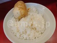 らーめん 谷瀬家@東京都港区 夏季限定 魚介つけ麺  サプライズ 煮玉子 ライス