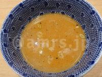 つじ田 秋葉原店@東京都千代田区 濃厚つけ麺 特盛り 味玉入り スープ割り