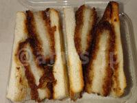 ヤマモトヤ 玉子サンドの無人販売所@神奈川県厚木市 ダブルかつサンド トースト