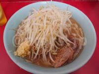 ラーメン二郎 新宿歌舞伎町店@東京都新宿区 ラーメン 麺少なめ