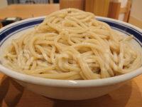 孫鈴舎 丸の内店@東京都千代田区 つけめん 中盛 450g 松富士食品製のストレート太麺