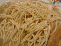 煮干中華 余韻@神奈川県相模原市 ストレート細麺