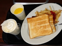無料モーニング食べ放題@快活クラブ 無料モーニング食べ放題 フライドポテト 神ポテト 食パン トースト ソフトクリーム リアルゴールド