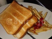 無料モーニング食べ放題@快活クラブ 無料モーニング食べ放題 フライドポテト 神ポテト 食パン トースト