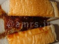 コストコホールセール 多摩境倉庫店@東京都町田市 かつサンド パンの厚み